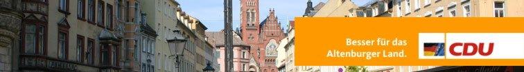 Banner Altenburger Markt